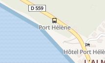 Plage Port Helene